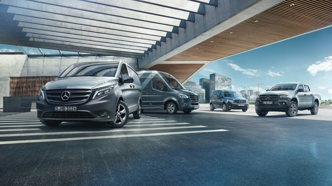 Mercedes-Benz Fleet solutions