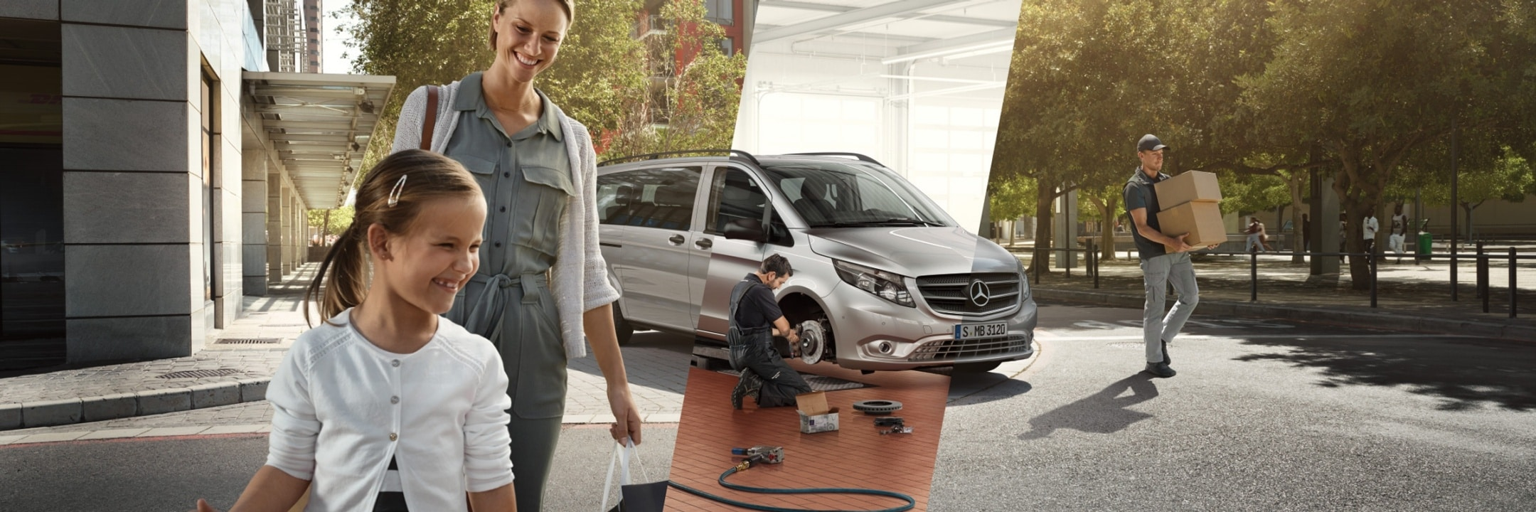Mercedes-Benz Service and GenuineParts for your van.