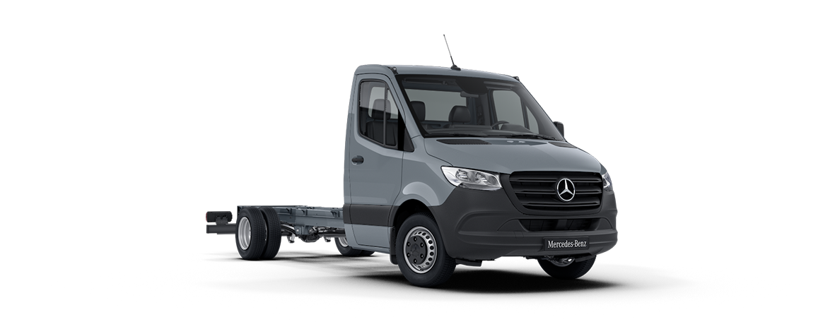 Sprinter Chassis Cab, blue-grey, lead-free
