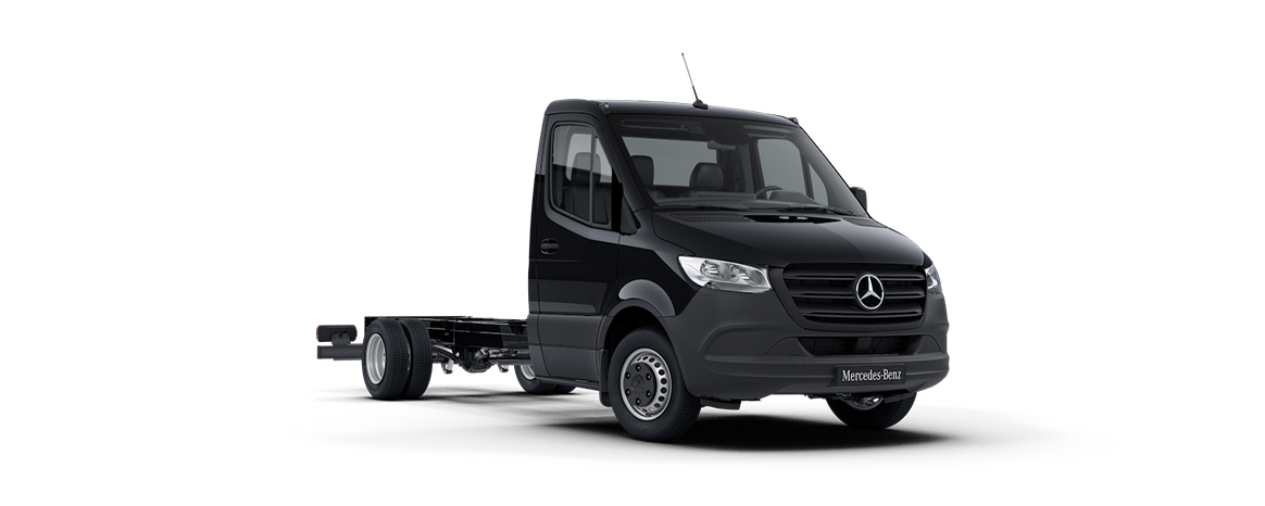 Sprinter Chassis Cab, deep black