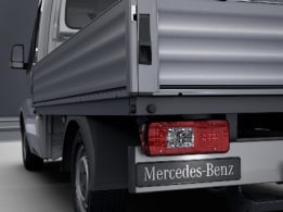 Sprinter Chassis Cab, tail lamps with partial LED technology