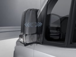Sprinter Chassis Cab, electrically-folding exterior mirrors